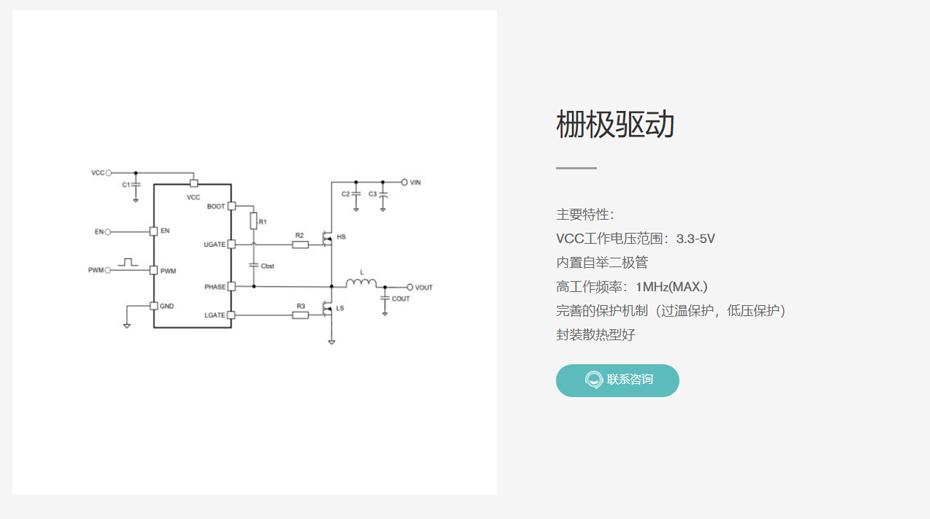 栅极驱动-汇超电子