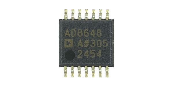 AD8648四路运算放大器芯片介绍-汇超电子