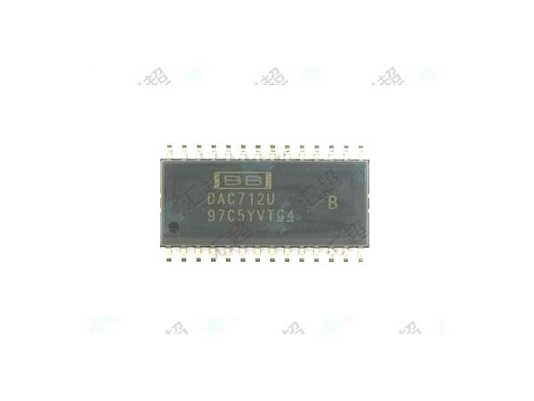 DAC712UB-数模转换器-模拟芯片