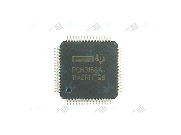 PCM3168APAPR-音频编解码器-模拟芯片