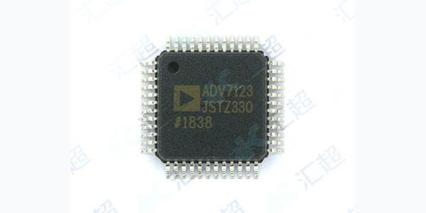 ADV7123芯片的说明与应用