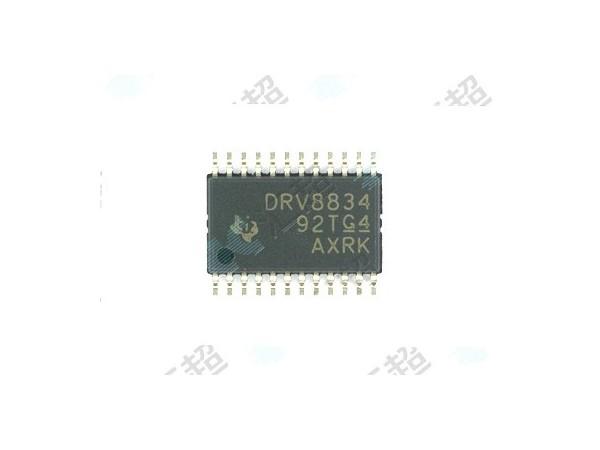 DRV8834PWPR-步进电机驱动器-模拟芯片